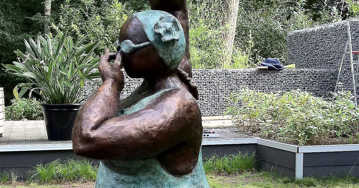 Kunstobjecten Voor Tuin : Kunst abacus tuinen tuinontwerp realisatie en onderhoud